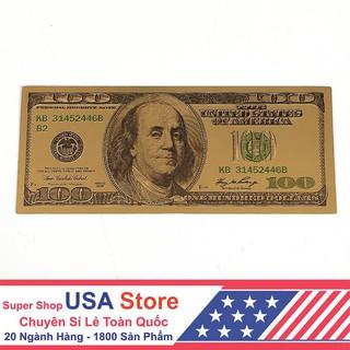 Đặc biệt Sale Tờ Đô La Vàng Kim May Mắn | Convenient USA