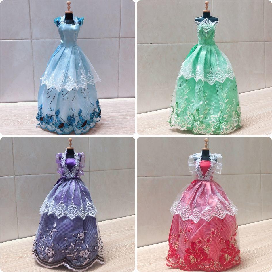 Doll Clothes Barbie Wedding Dress 30cm BJD