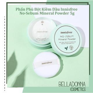 Phấn Phủ Bột Kiềm Dầu Innisfree No-Sebum Mineral Powder 5g thumbnail