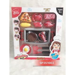 Hộp bếp lò nướng pin pizza BBQ , 5547 (hộp)