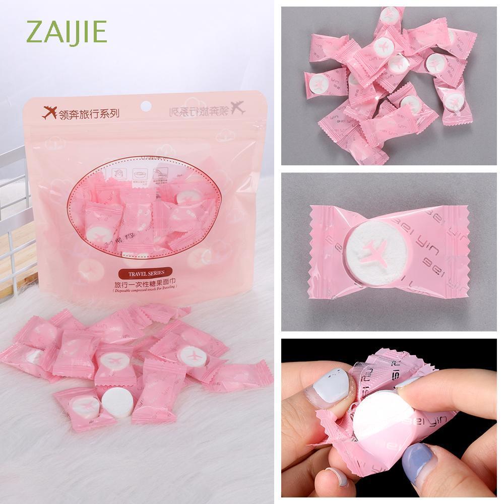 30/50pcs Compressed Magic Cloth Tablet Capsules Disposable Towel