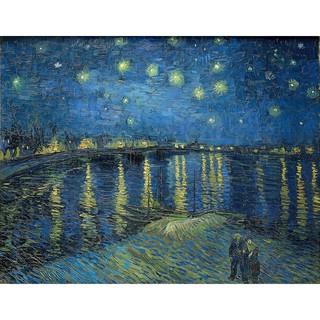 Tranh ghép hình 1000 mảnh – Starry night over Rhone Van Gogh
