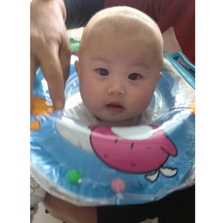 ★Lp★Inflatable Swimming Baby Accessories Neck Ring Safety Infants Circle Float