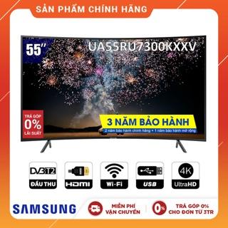 Hình ảnh [Nhập SAMSUNGTV Giảm 1TR] Smart Tivi Samsung 4K 55 inch UA55RU7300KXXV-1