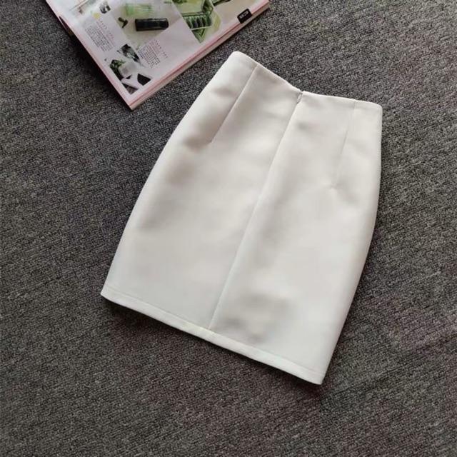 Chân váy bút chì có khoá séc kéo không sẻ 45cm