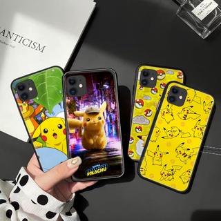 Ốp Điện Thoại Mềm In Hình Pikachu Cho Iphone 12 Mini 11 Pro XR XS Max