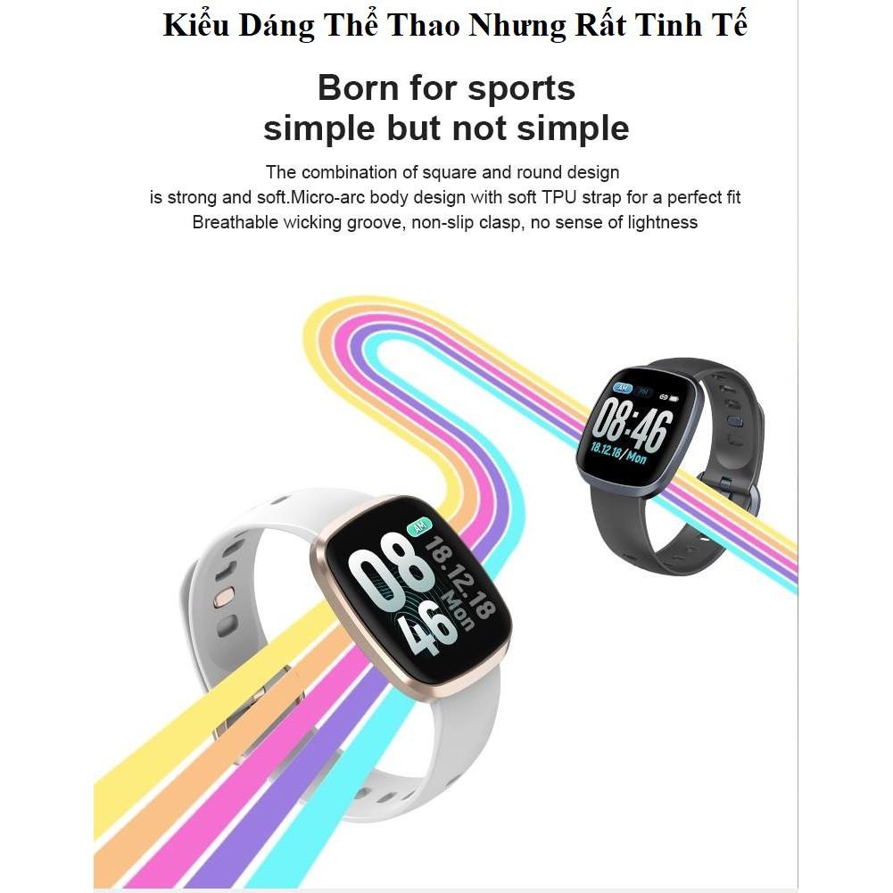 Đồng Hồ Thông Minh - Smartwatch GT103 Full Màn Hình Cảm Ứng - Siêu Chống Nước - Kính Gorilla Glass 5
