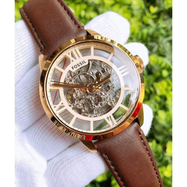 [Mã WTCHFEB giảm 20K ] Đồng hồ nam Fossil Townman Automatic ME3041