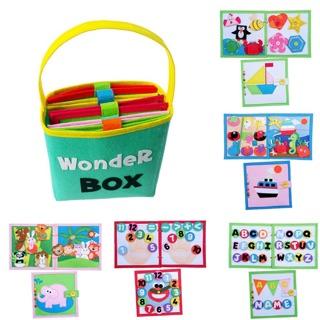 Bộ sách vải KID WONDER BOX – SÁCH VẢI KHASA