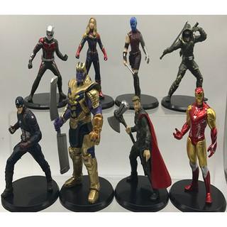 Bộ 8 Mô Hình Siêu Anh Hùng Avengers: End Game