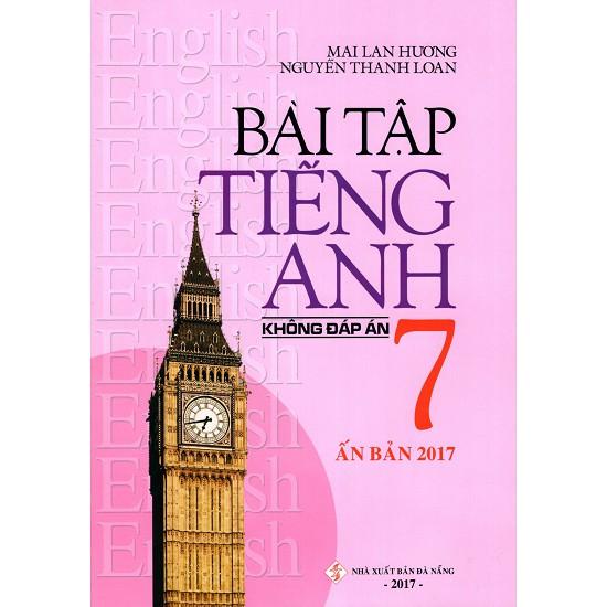 Sách - Bài Tập Tiếng Anh Lớp 7 (Không Đáp Án) - 2396117411692
