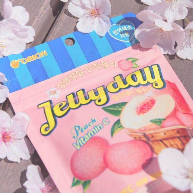 Kẹo dẻo đào Jellyday Hàn Quốc