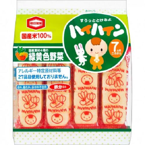 Bánh gạo tươi Haihain Nhật cho bé từ 7 tháng Date 2020