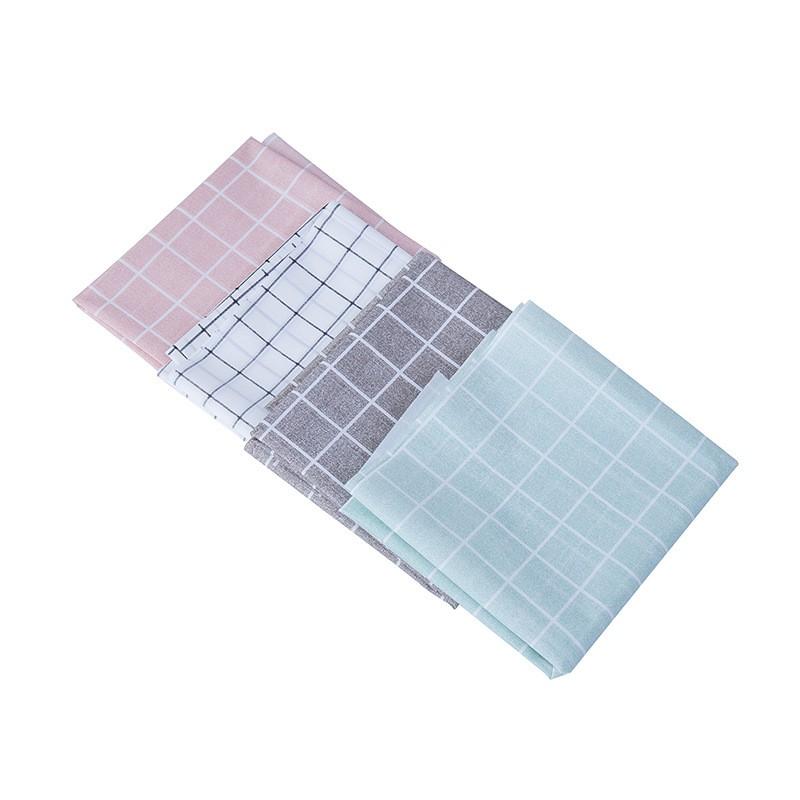SG - Khăn trải bàn caro, nhựa PVC chống thấm nước