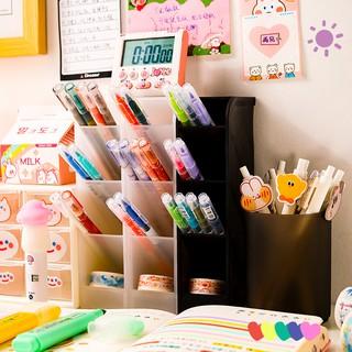 Yêu ThíchKệ 4 tầng đựng bút/ mỹ phẩm/ cọ trang điểm 4 tầng Ống đựng bút phân loại bút 6 màu tùy chọn
