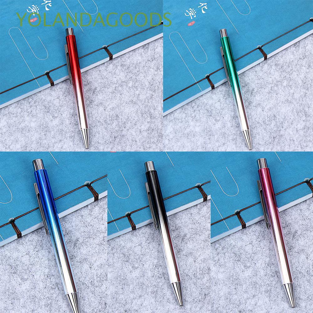 1mm New Durable Writing Tool Stationery Smooth Metal Ballpoint
