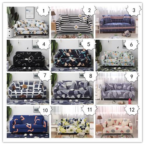 Vỏ bọc vải thun co giãn in hoa nhiều mẫu mã cho ghế sofa 1/2/3/4 chỗ