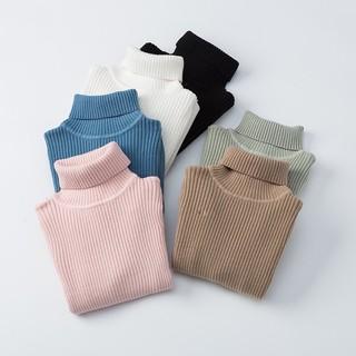 Áo len tăm cổ lọ cho bé loại dày cho cả bé trai và gái