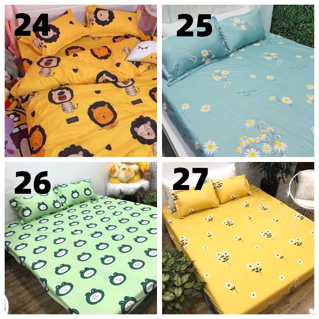 Bộ ga giường và vỏ gối poly m2/m6/m8