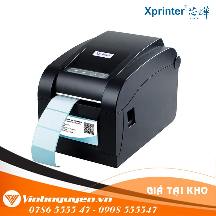 [Mã ELCLDEC giảm 5% đơn 500K] Máy in mã vạch Xprinter XP350B Giá siêu Rẻ Cho Bạn