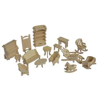 Bộ đồ chơi lắp ghép bằng gỗ