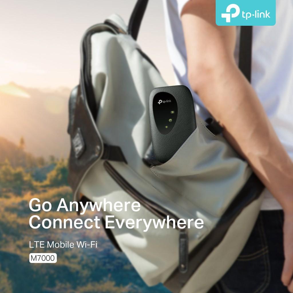 Bộ Phát Wifi 4G TP-Link M7000 - Tốc độ 150Mbs - Hàng chính hãng 100%, Bảo Hành 24 Tháng