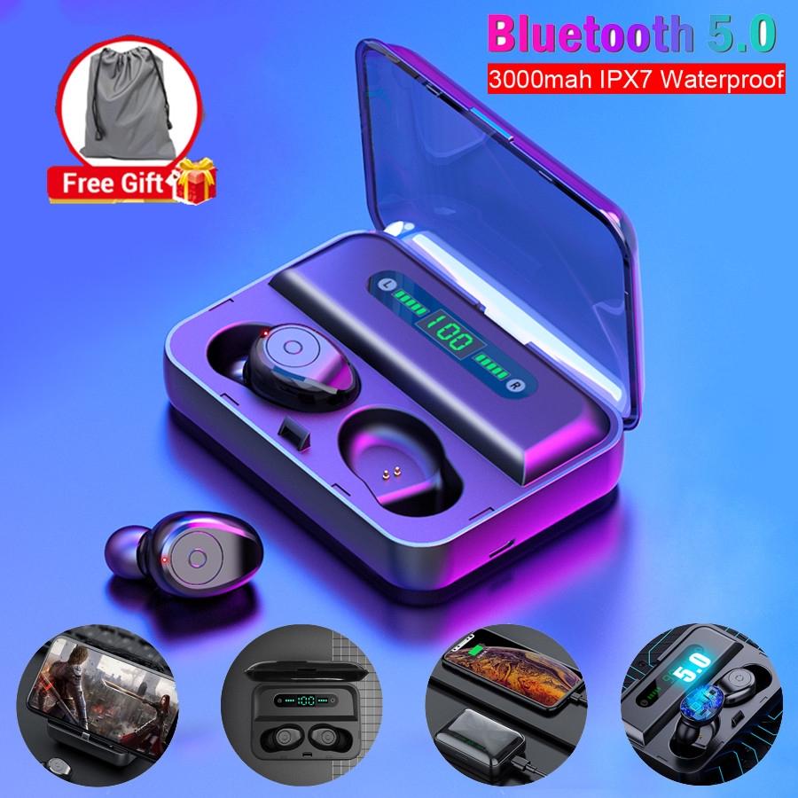Tai Nghe Bluetooth Không Dây Tws 5.0 Loại Bỏ Tiếng Ồn Tai Nghe Không Dây  Chống Nước