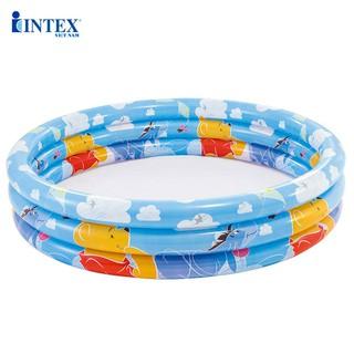 Bể bơi phao INTEX 58915- 3 tầng 1m47-Gấu Pooth