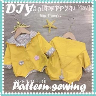 TVTP21 – Rập áo khoác trẻ em size 1 – 10 tuổi
