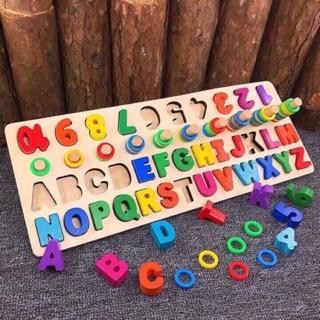 Cột tính học đếm chữ và số đa năng