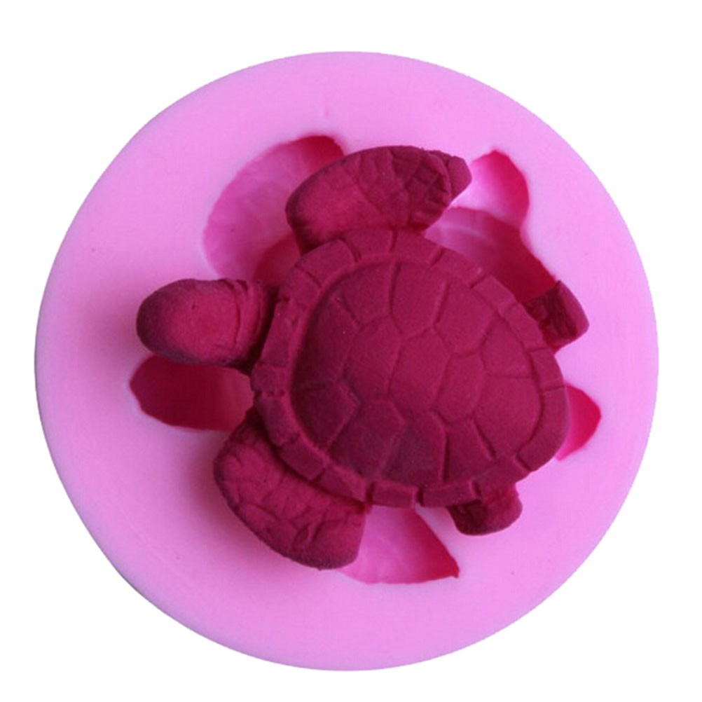 Sea Turtle Silicone Baking Mould Cake Chocolate Soap Candle Mold Craft
