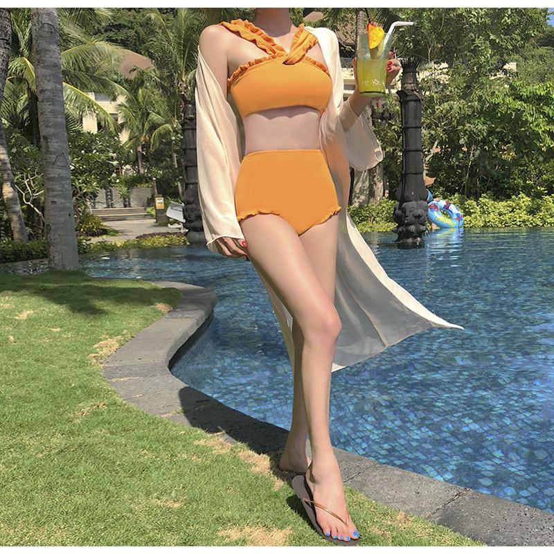 Bikini nữ hai mảnh, đồ bơi nữ hai mảnh Hàn Quốc