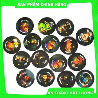 [Hỗ trợ giá] Bài Ma Sói One Night Việt Hoá_Hàng cao cấp