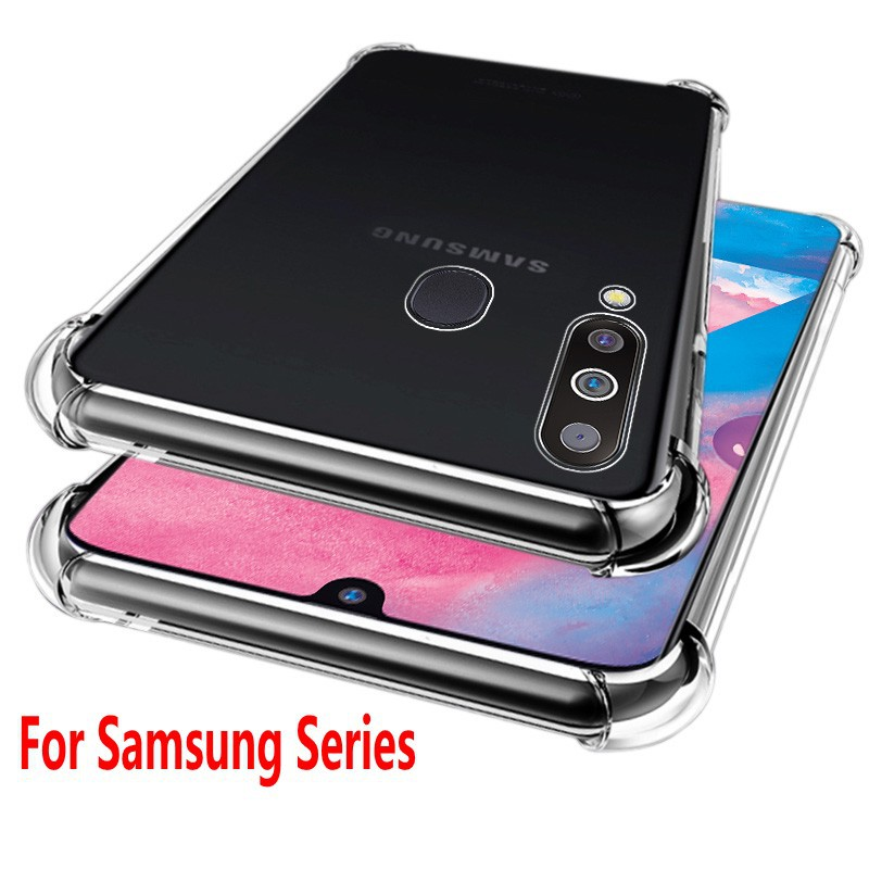 Ốp điện thoại trong suốt chống sốc chất lượng cao cho Samsung Galaxy Note 9 Note 8 S9 S8 S10 S10