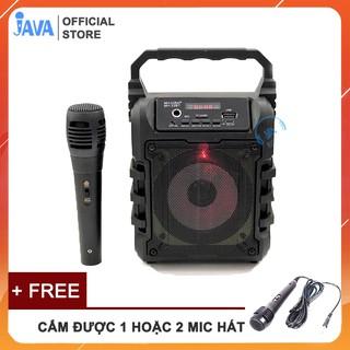 [ TẶNG 1 HOẶC 2 MICRO] Loa Kẹo Kéo Karaoke Bluetooth Mini – Loabluetooth- JAVA33bt