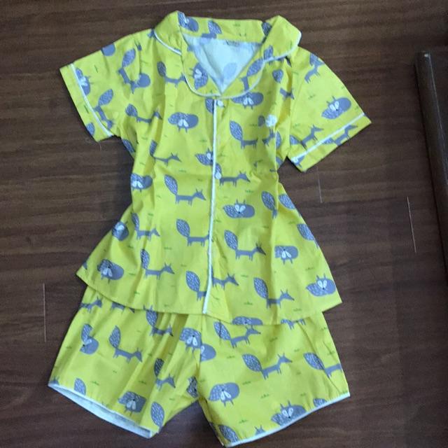 Bộ pyjama chất cực đẹp (xem clip rõ màu)