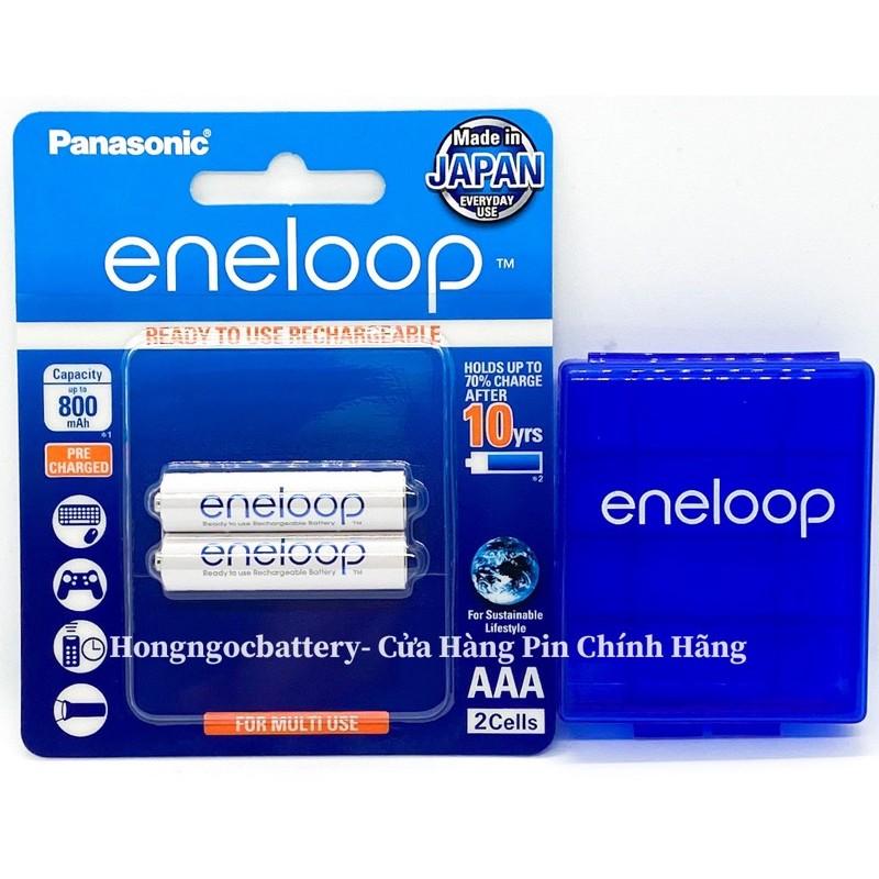 Pin AAA Eneloop BK4MCCE Made in Japan - Tặng Hộp Bảo Quản