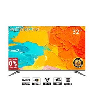 Smart TV HD Coocaa 32 inch Wifi - Tràn viền - Model 32S5C (Bạc) - Chân viền kim loại thumbnail
