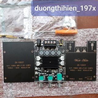 Mạch khuếch đại âm thanh Wuzhi ZK-1002T Hifi 100Wx2 chất lượng cao bluetooth 5.0