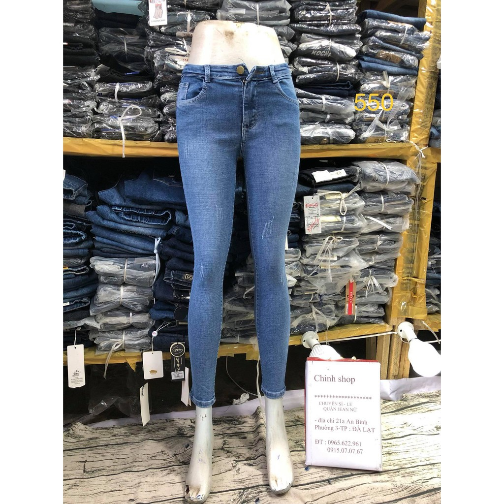 quần jean xanh mã 560