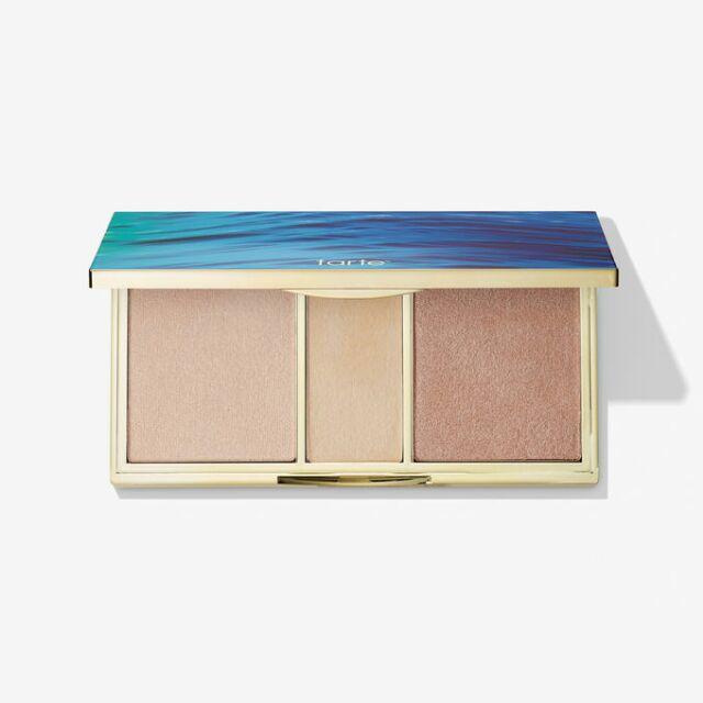 Bảng Highlight Tarte Skin Twinkle Lighting Palette 3 màu nhẹ nhàng