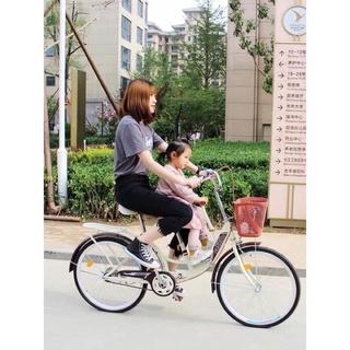 Xe đạp 3 chỗ dành cho 3 mẹ con và gia đình FO thumbnail