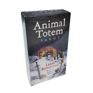 Animal Totem Tarot Card Deck Game Divinations Predict Future Career Love Relationships C2W