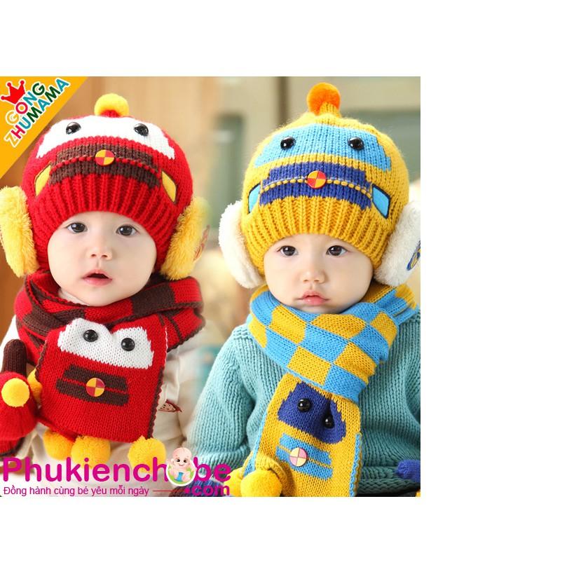 Bộ mũ và khăn len quàng cổ cho bé trai từ 6 tháng đến 3 tuổi phong cách Hàn Quốc (ảnh thật) - 3390589 , 621249623 , 322_621249623 , 100000 , Bo-mu-va-khan-len-quang-co-cho-be-trai-tu-6-thang-den-3-tuoi-phong-cach-Han-Quoc-anh-that-322_621249623 , shopee.vn , Bộ mũ và khăn len quàng cổ cho bé trai từ 6 tháng đến 3 tuổi phong cách Hàn Quốc (ảnh thật