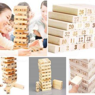 GIÁ SỈ TU 2_Bộ Đồ Chơi Rút Gỗ Wood Toys Loại Lớn