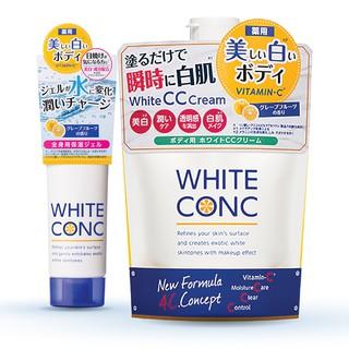 Combo dưỡng trắng da White ConC (Kem dưỡng ẩm làm trắng da Watery Cream 90g Kem dưỡng trắng da toàn thân ban ngày 200g)