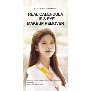 Tẩy trang mắt môi Real Calendula Lip & Eye Makeup Remover thumbnail