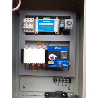Tủ tự đề máy phát khi mất điện 3 pha - ATS 4P 125A thumbnail