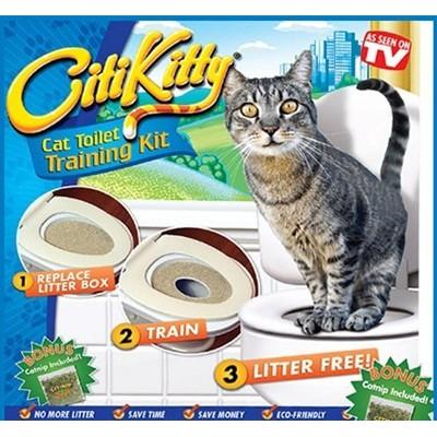 Bộ huấn luyện mèo đi vệ sinh citi kitty