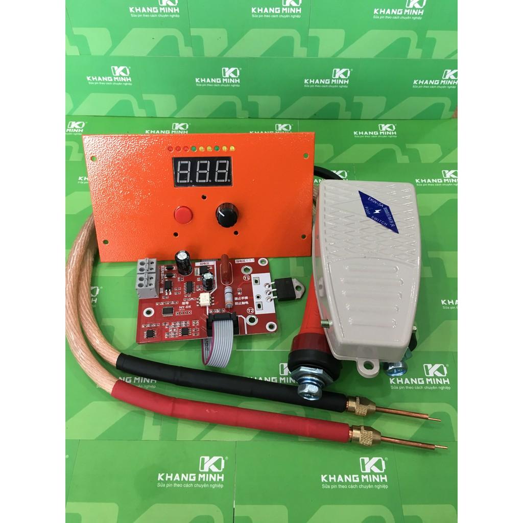 KM Combo máy hàn cell D.I.Y V2.0, xung kép công suất 40A - 100A, hiển thị LED - 2946976 , 982771582 , 322_982771582 , 880000 , KM-Combo-may-han-cell-D.I.Y-V2.0-xung-kep-cong-suat-40A-100A-hien-thi-LED-322_982771582 , shopee.vn , KM Combo máy hàn cell D.I.Y V2.0, xung kép công suất 40A - 100A, hiển thị LED